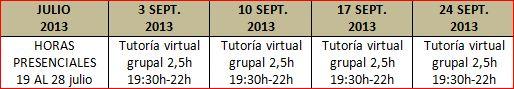 PNL y oratoria campus intensivo - horarios