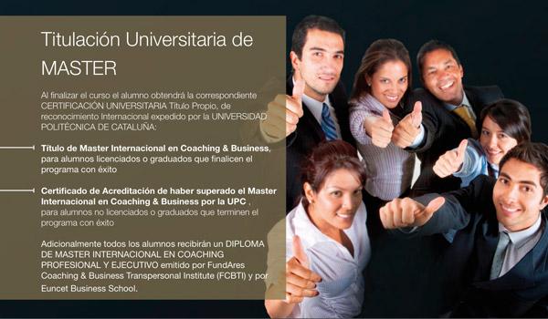 Master Internacional Coaching & Business - 2a Edicion