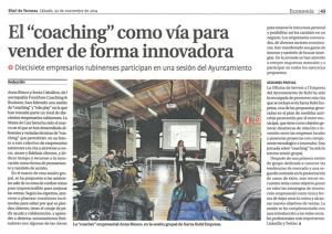 Coaching e innovación en Ventas