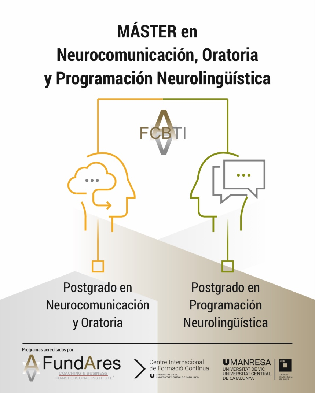 Master en Neurocomunicación, Oratoria y Programación Neurolingüística
